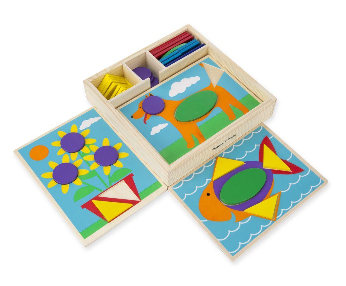 Billede af Puslespil fra Melissa & Doug - Beginner Pattern Blocks