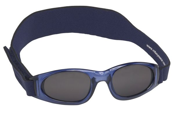 Real kids shades Solbrille - rks my first shades - navy fra babygear.dk
