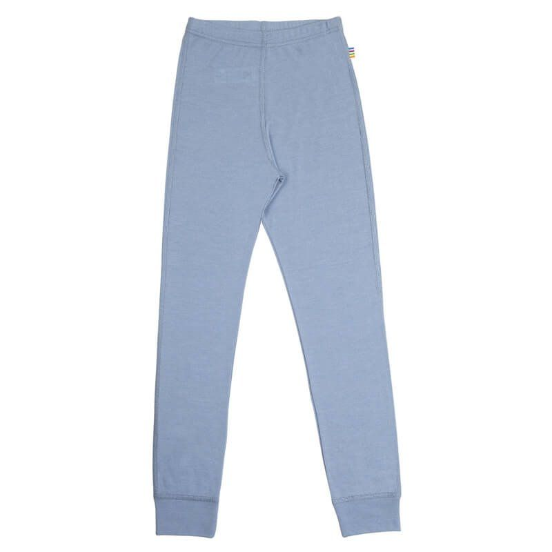 Image of   Leggings fra Joha i uld/silke i Dusty Blue