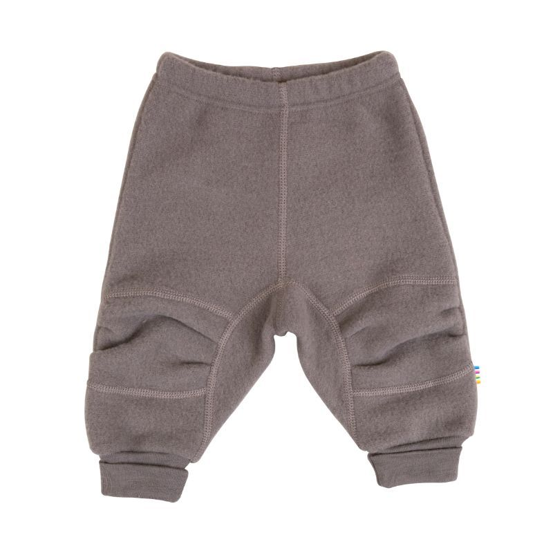 Image of   Baggy Pants i Soft Wool fra Joha - Iron Brown
