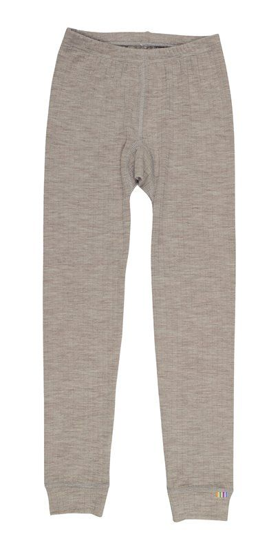 Image of Leggings fra Joha i uld i Sesame Melange (26340-122-15587)