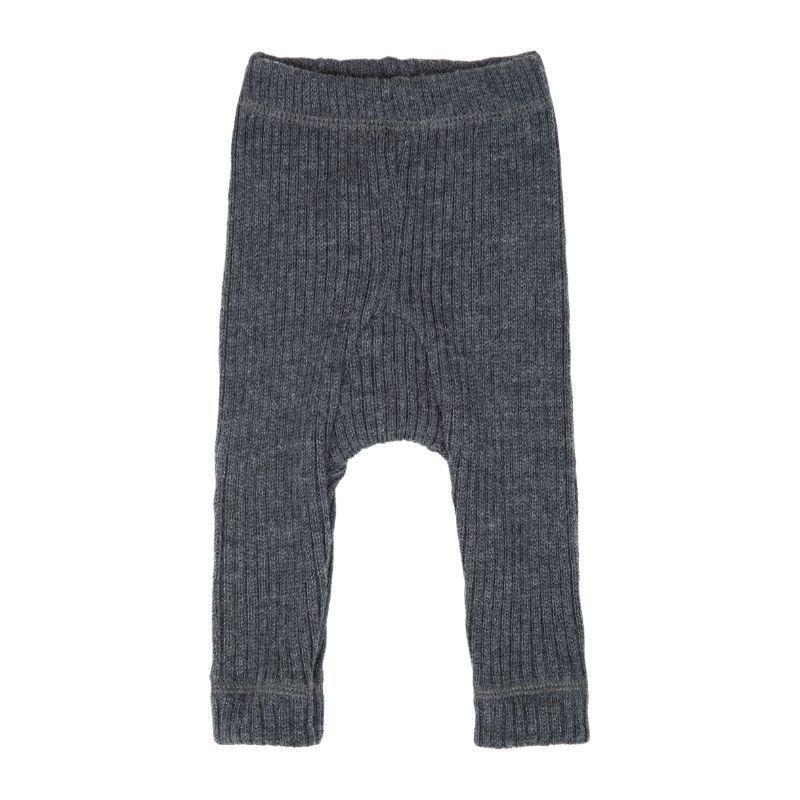 Image of Bukser i Soft Wool rib fra Joha - Koksgrå (26590-917-15205)