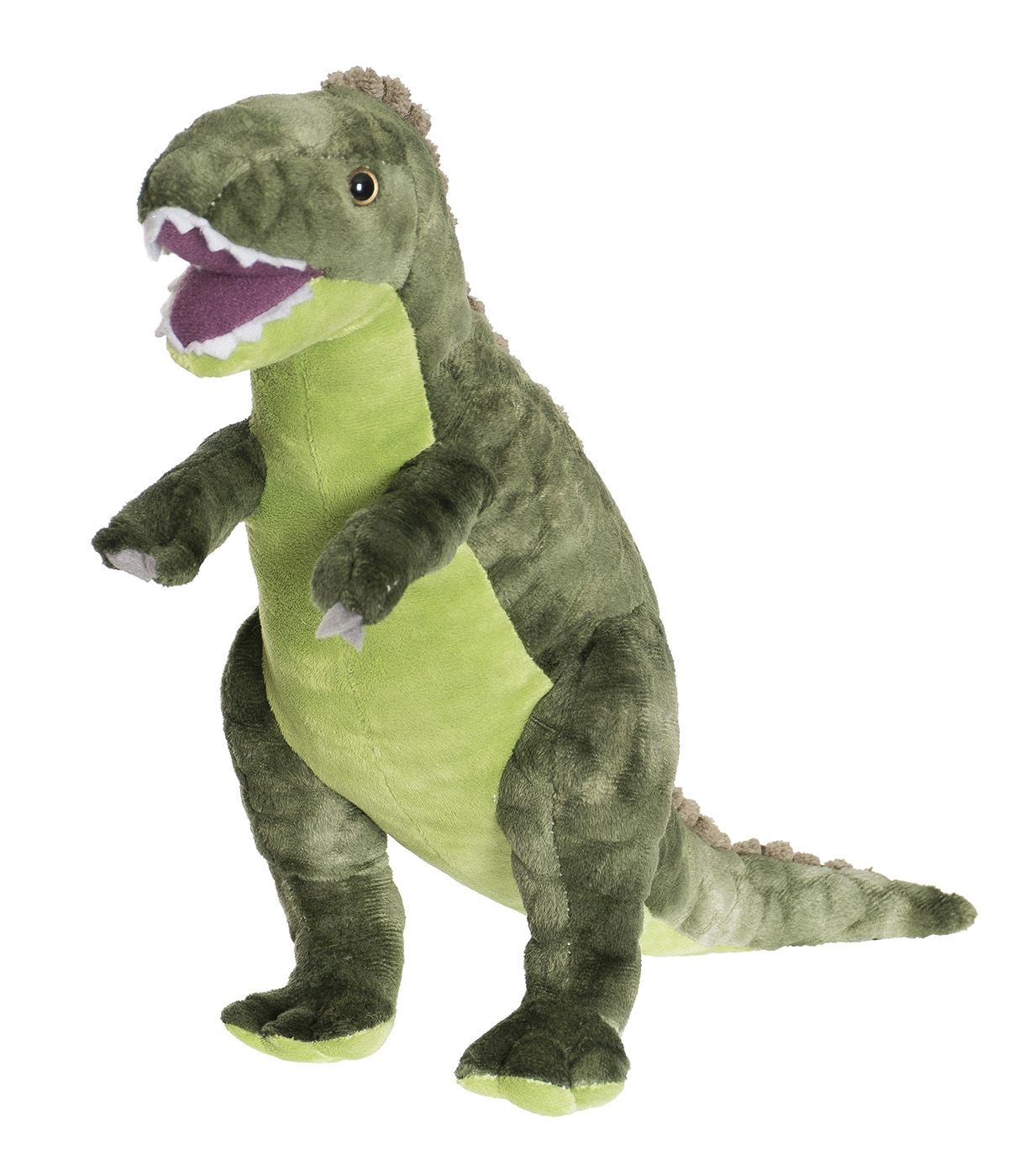 Image of Dino fra Teddykompaniet - T-Rex - Grøn (40 cm) (2691.)