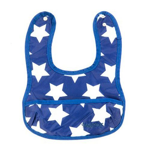 Image of   Hagesmæk fra Smallstuff m. lomme - Navy/White Star