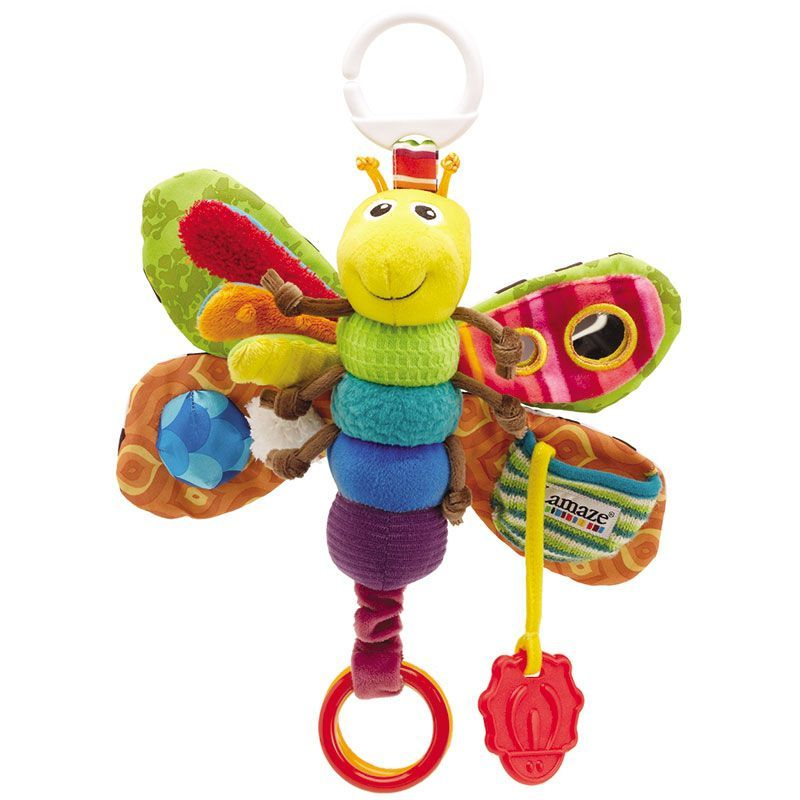 Image of Sommerfugl rangle - Freddie the Firefly - fra Lamaze (LAM-TOY19)