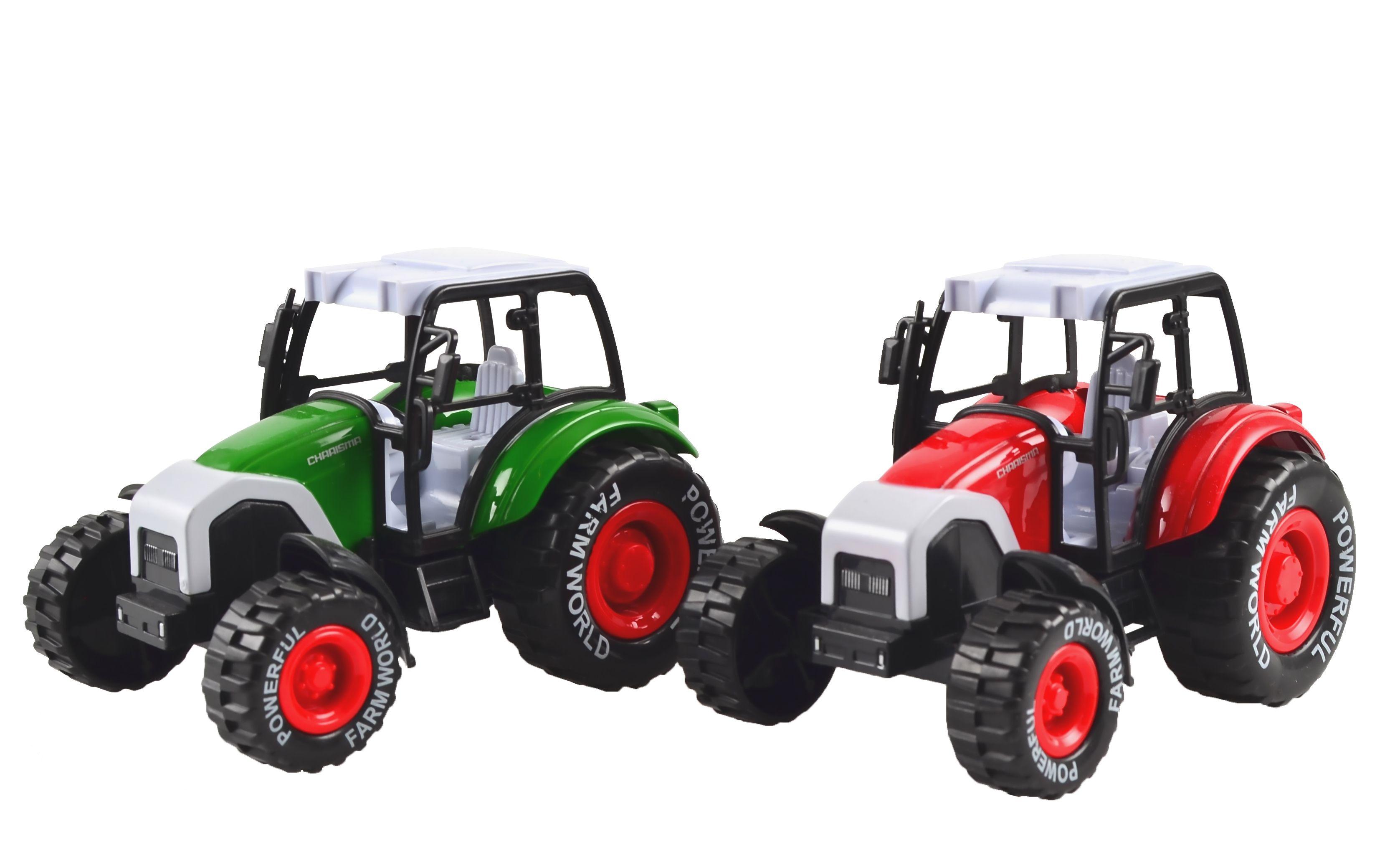 Image of Traktor fra Magni m. pull-back (1 stk) (2719)