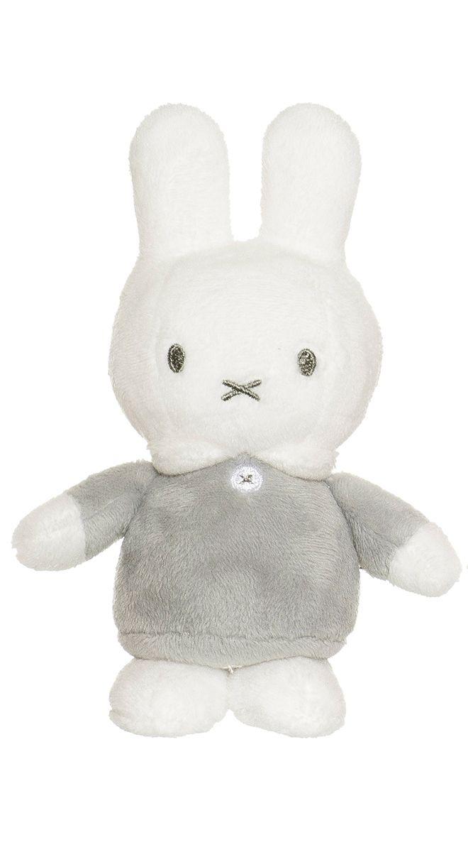 Image of Miffy bamse fra Teddykompaniet - Grå (15 cm) (2735_graa)