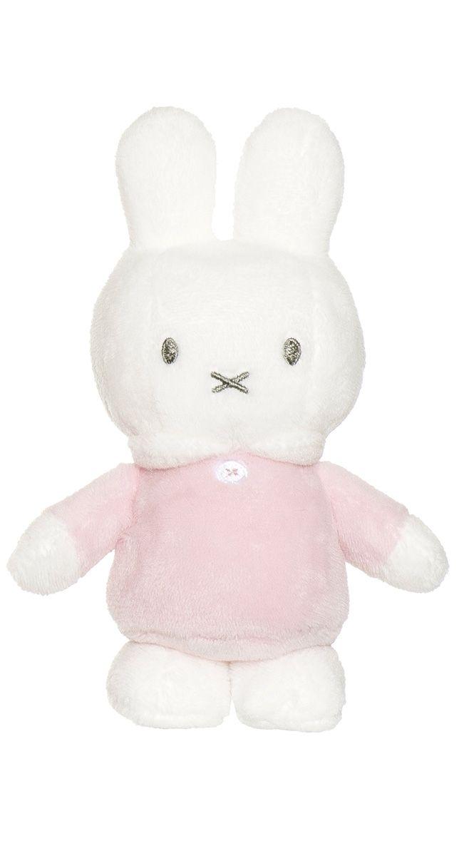 Image of Miffy bamse fra Teddykompaniet - Rosa (15 cm) (2735_rosa)