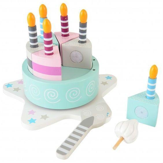 Billede af Fødselsdagskage m. fødselsdagssang og tal fra Magni (1-10 år)