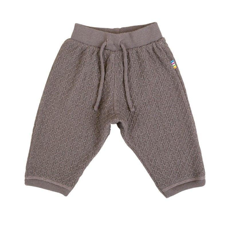 Billede af Uld bukser fra Joha - Iron Brown
