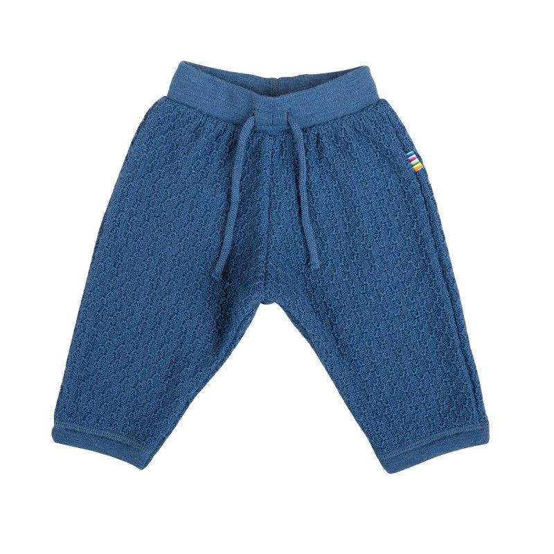 Billede af Uld bukser fra Joha - Blue Petrol