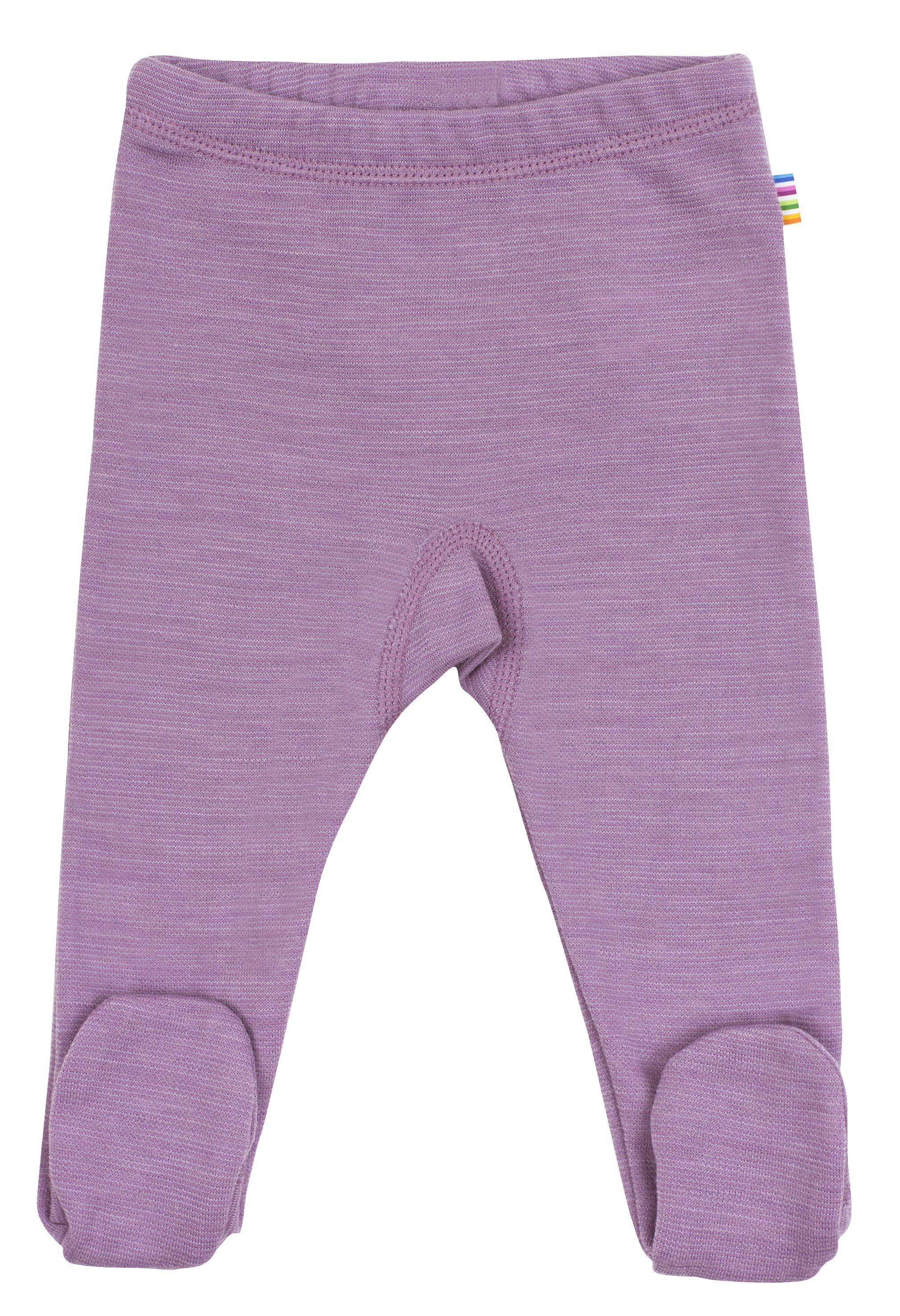 Image of   Leggings m. fod fra Joha i uld i Lavendel