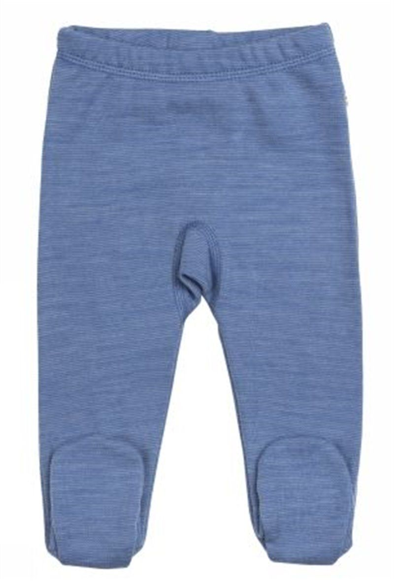Image of   Leggings m. fod fra Joha i uld i Dusty blue
