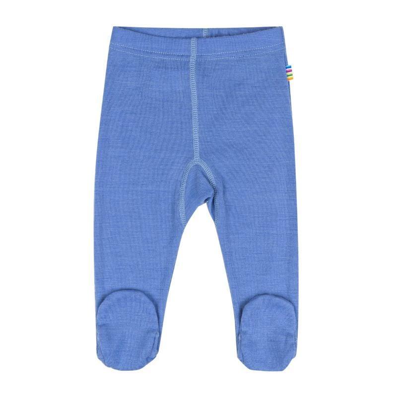 Image of   Baby bukser i sommer uld fra Joha - Colony Blue