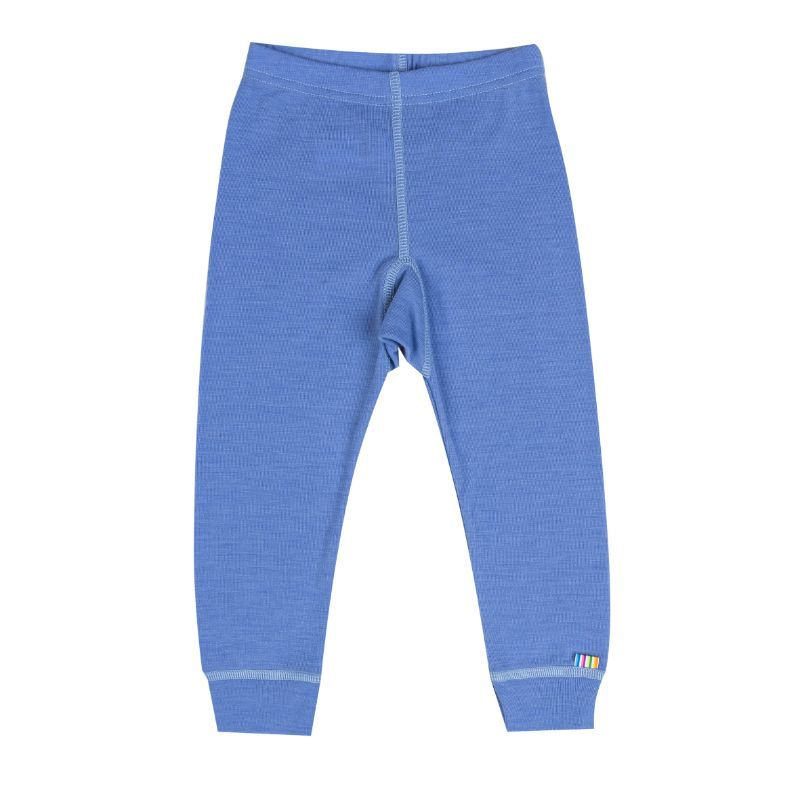 Image of   Leggings i sommer uld fra Joha - Colony Blue