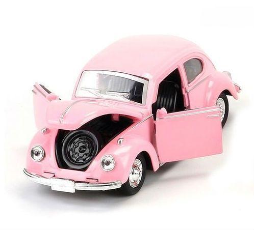 Image of   Legetøjsbil fra Magni - VW Bil Beetle (16,5 cm) - Lyserød