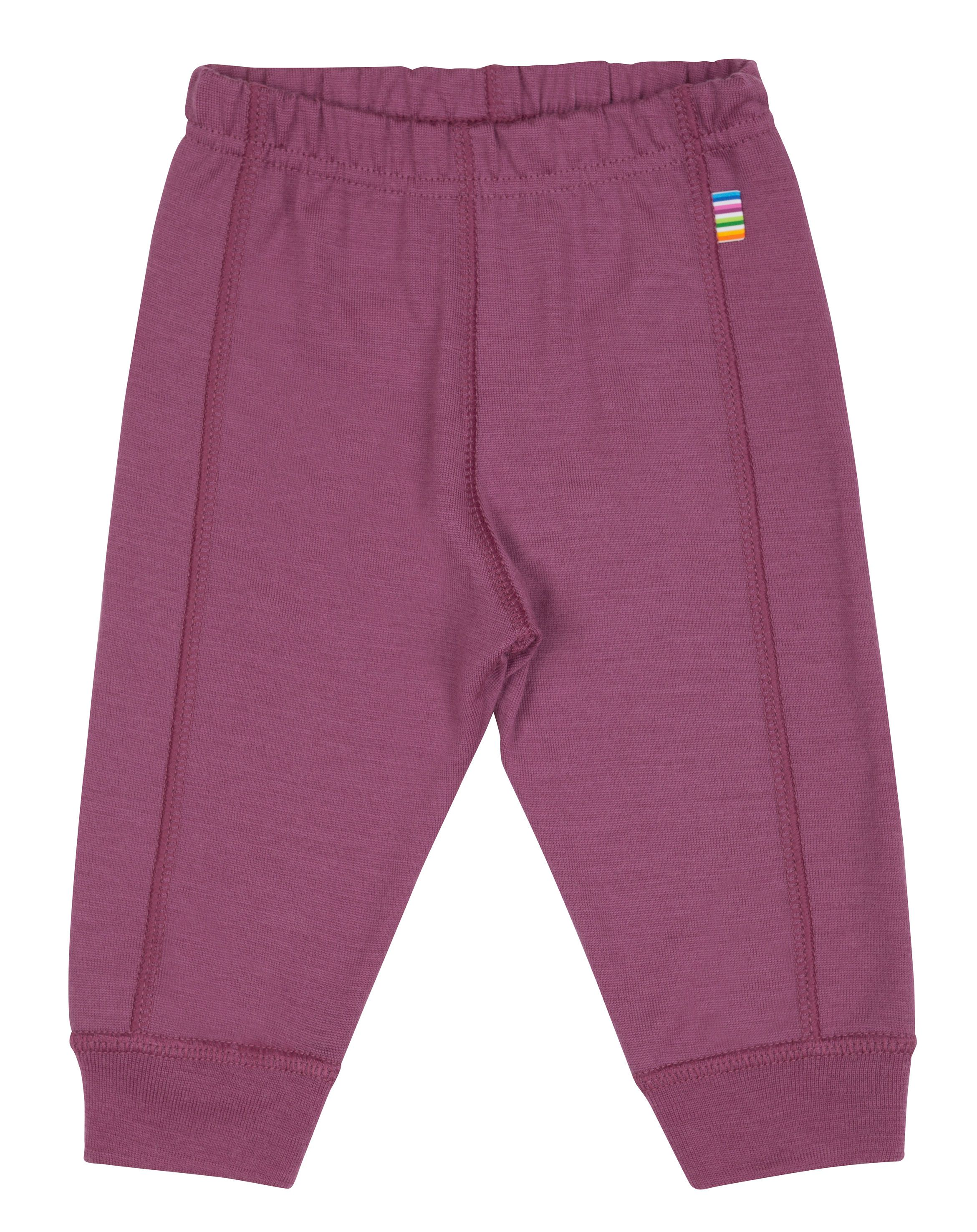 Image of   Leggings fra Joha i uld i Plum