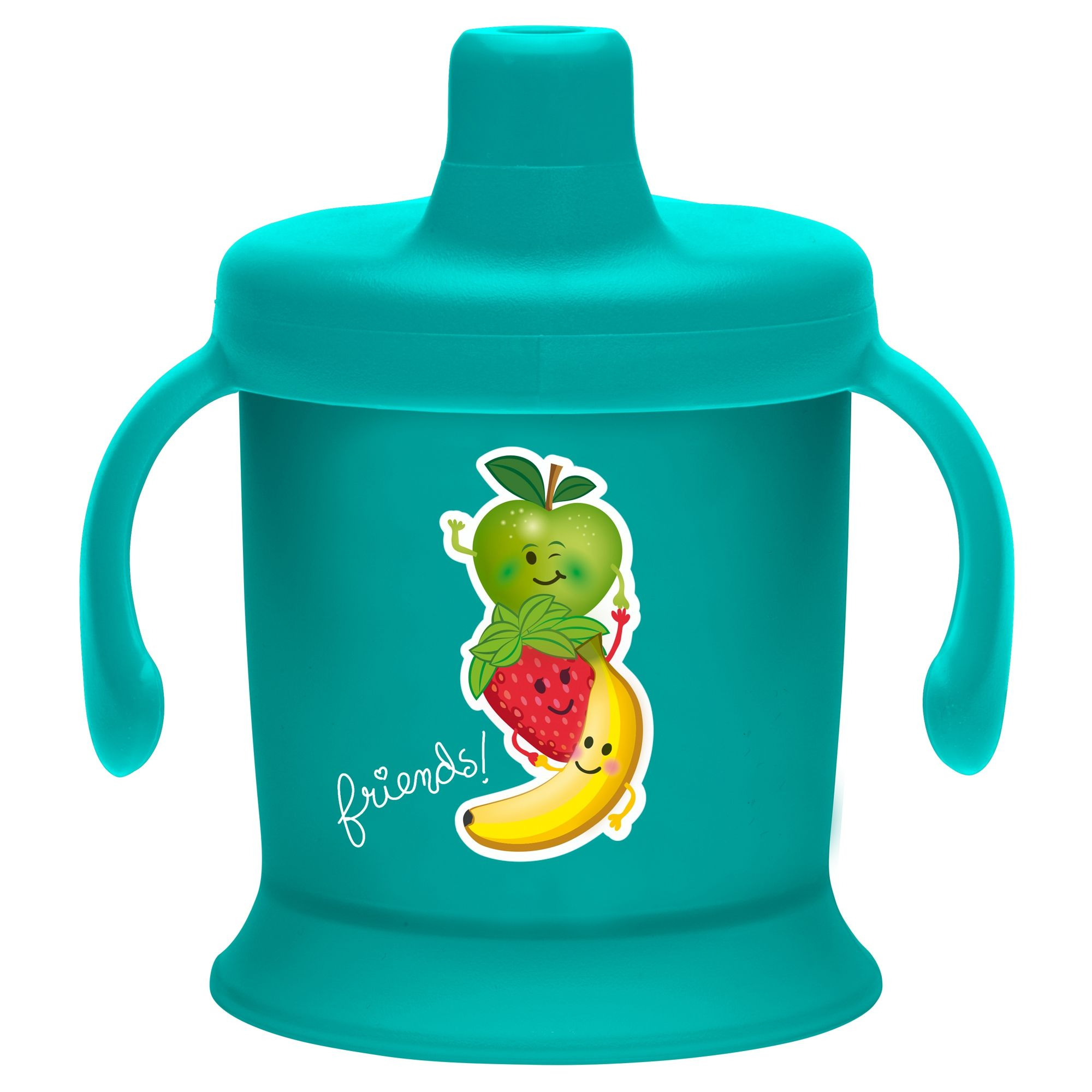 Image of   Spill Proof Cup - Tudkop fra Bambino (200 ml) - Aqua