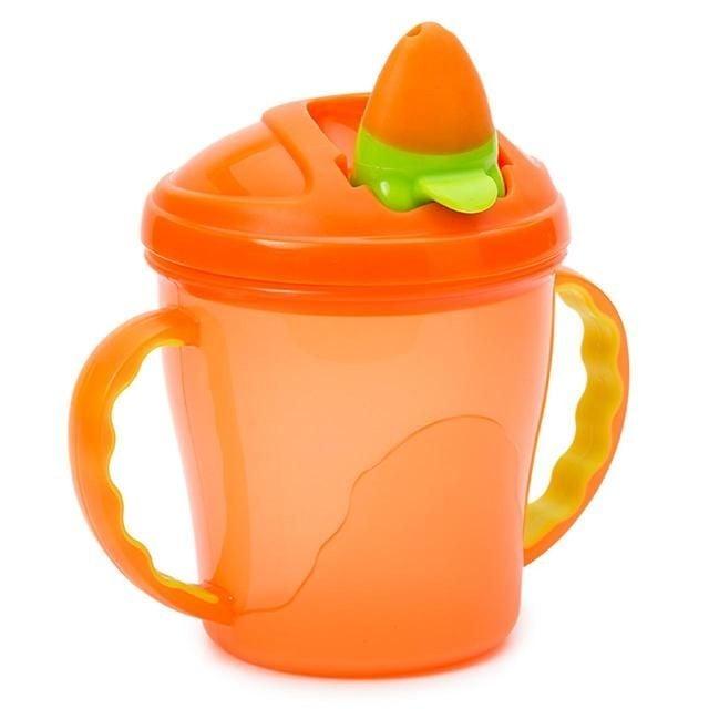 Vital baby – Tudkop fra vital baby - free flow cup (4m+) - orange fra babygear.dk