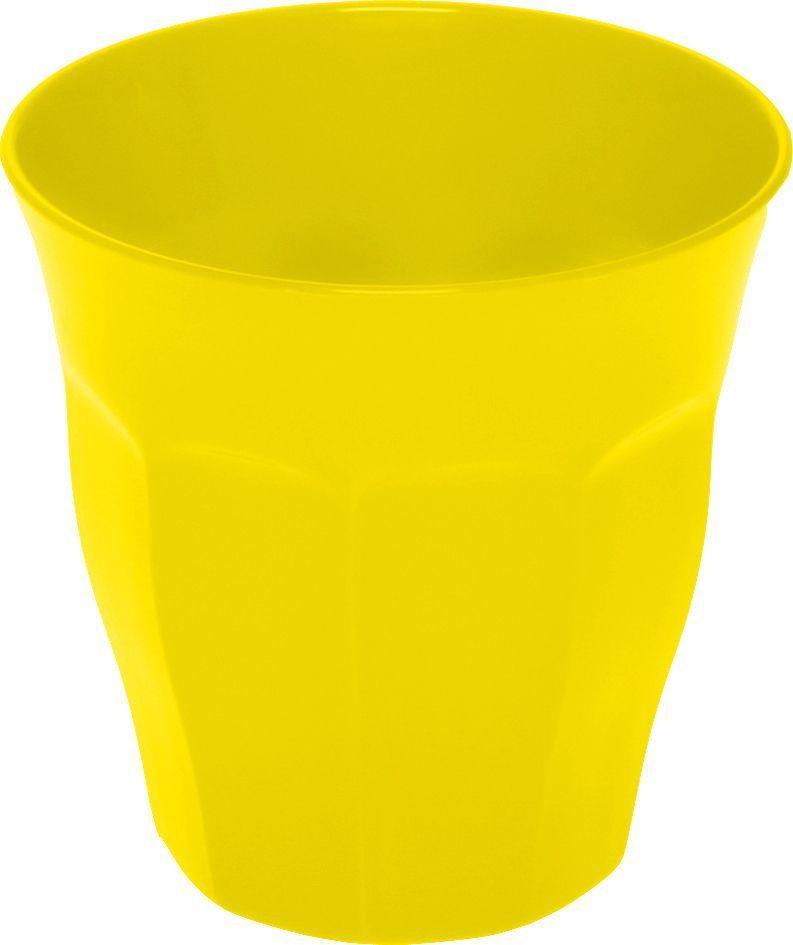 Billede af Café krus i plast - 0.25 liter - Gul