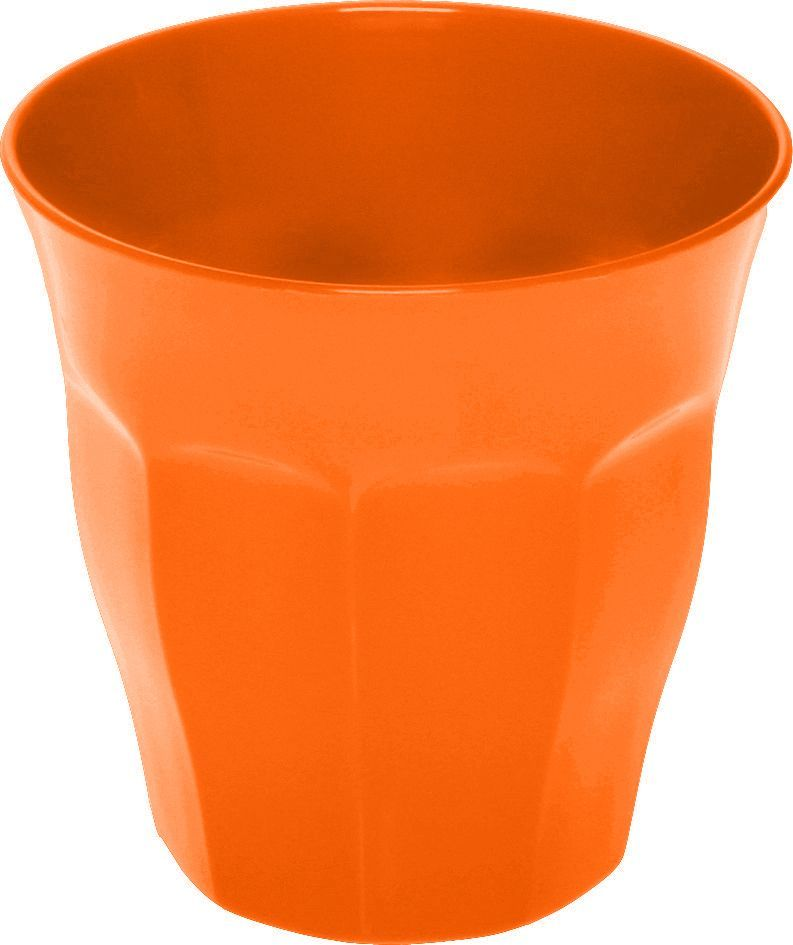 Image of Café krus i plast - 0.25 liter - Orange (2925_Orange)