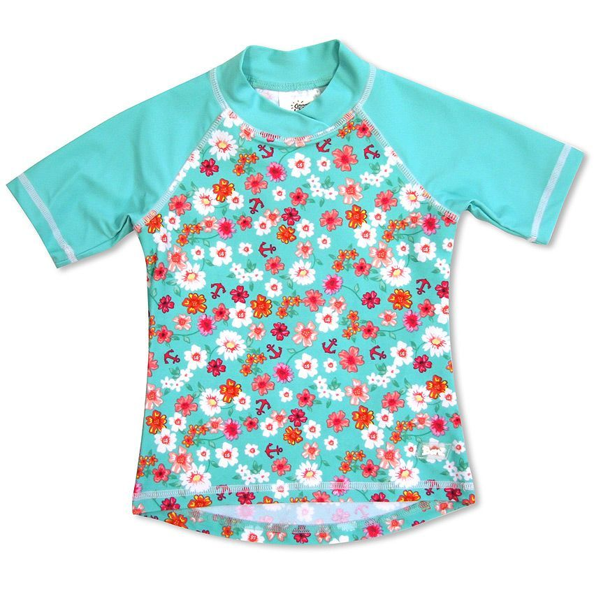 Image of Soltøj fra Baby Banz - T-shirt - Flowers (BB7022)