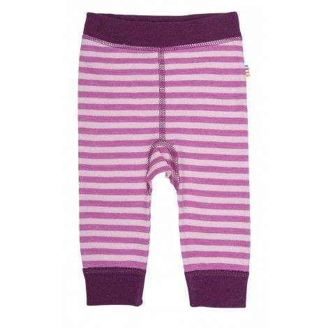 Image of   Leggings fra Joha i uld / bomuld - Wolly - Pink/lyserød