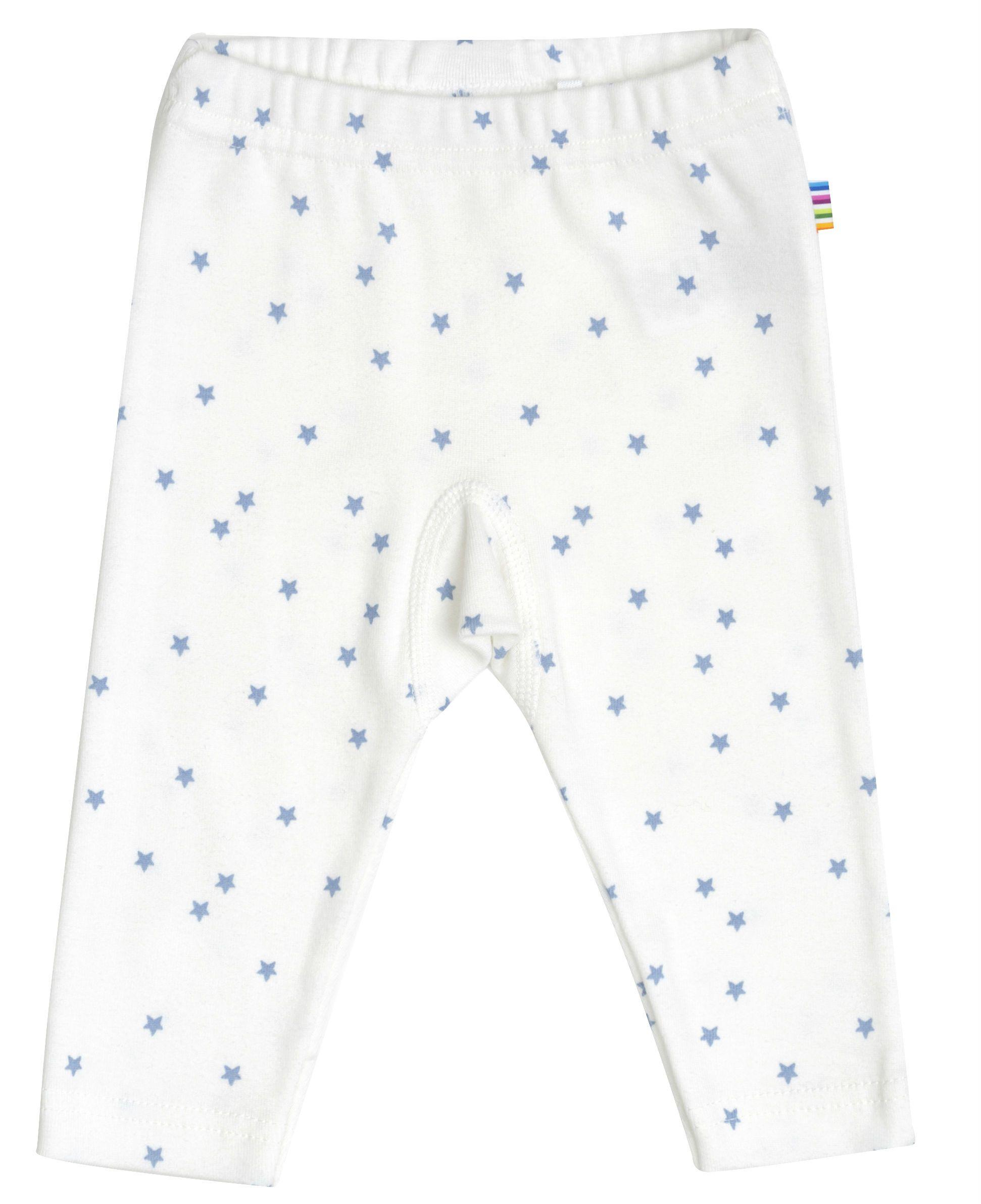 Image of   Leggings i økologisk bomuld fra Joha - Blue Stars