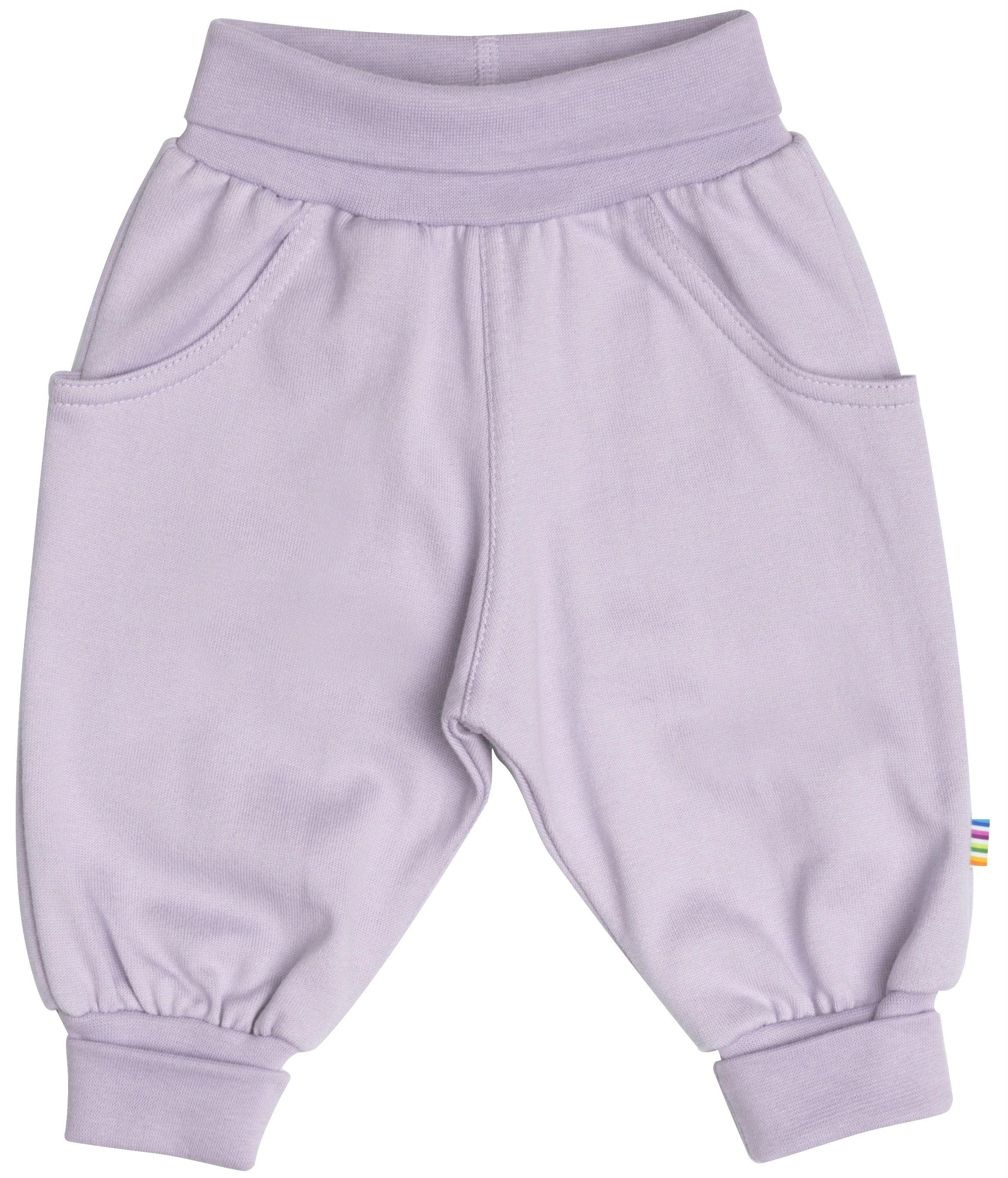 Image of Baggy Pants fra Joha i økologisk bomuld - Dusty Purple (29512-308-15564)