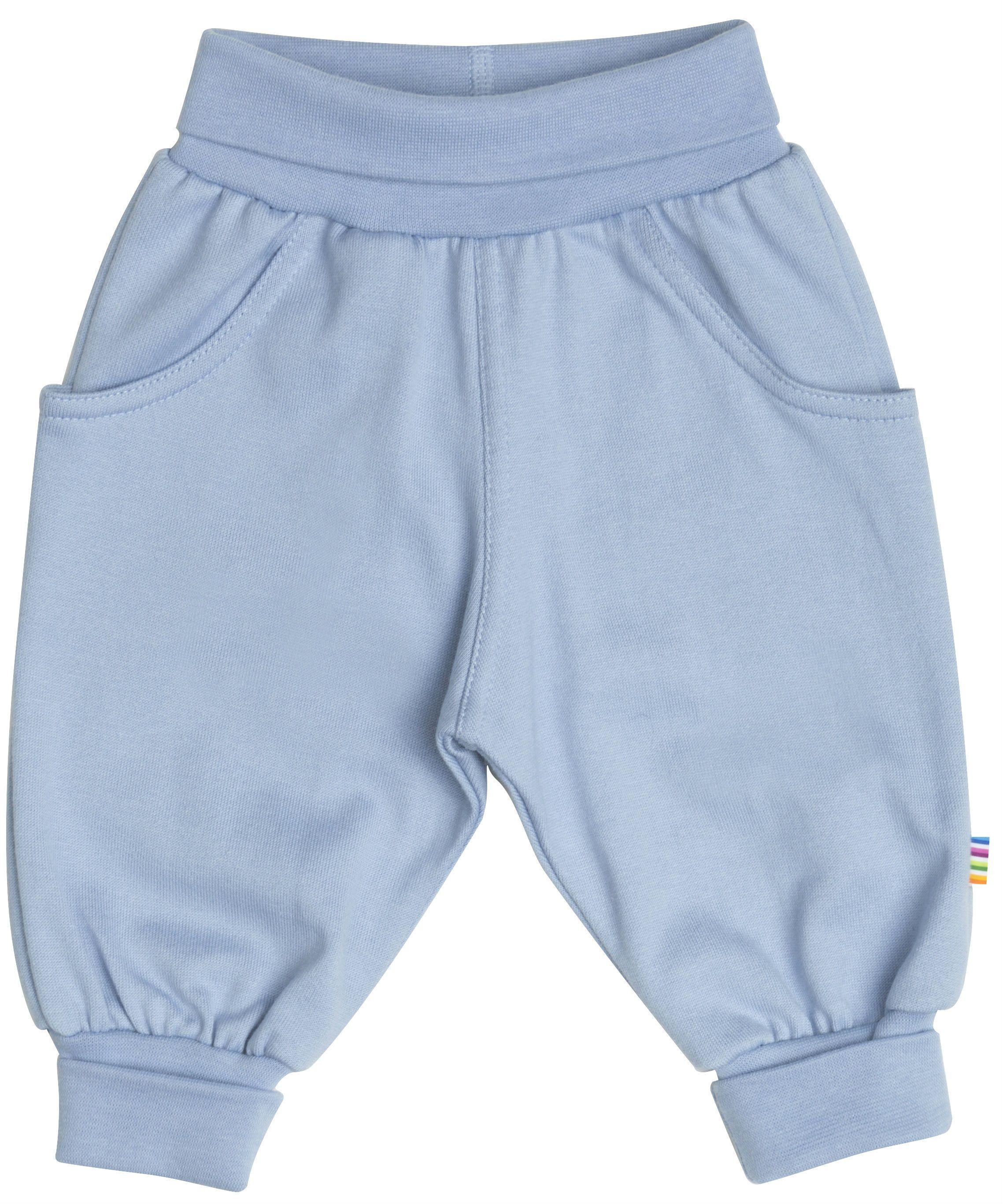 Image of   Baggy Pants fra Joha i økologisk bomuld - Ice Blue