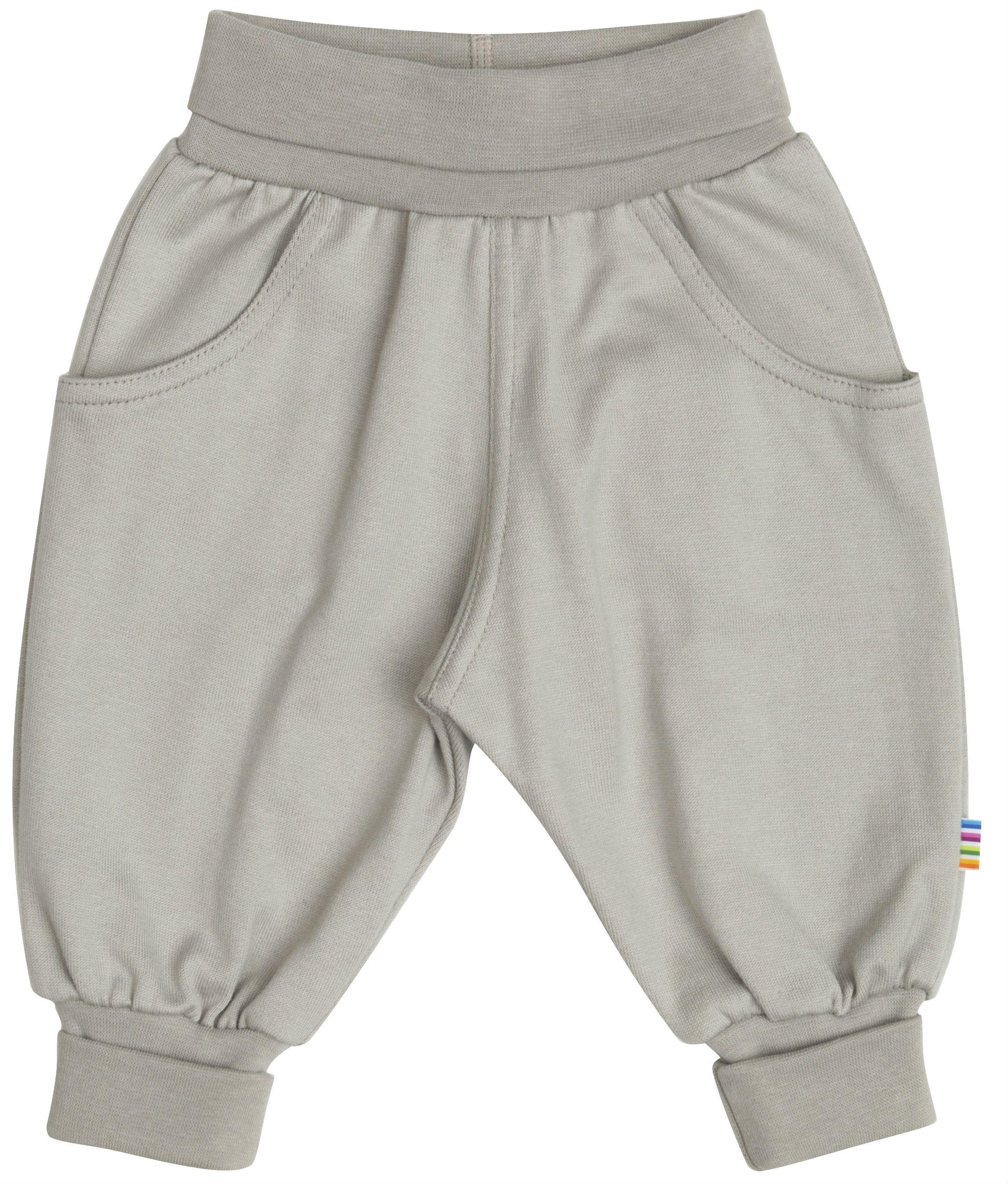 Baggy Pants fra Joha i økologisk bomuld - Flint Gray