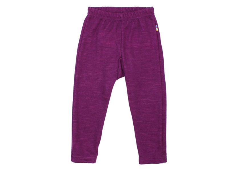 Image of   Leggings fra Joha i uld i Violet