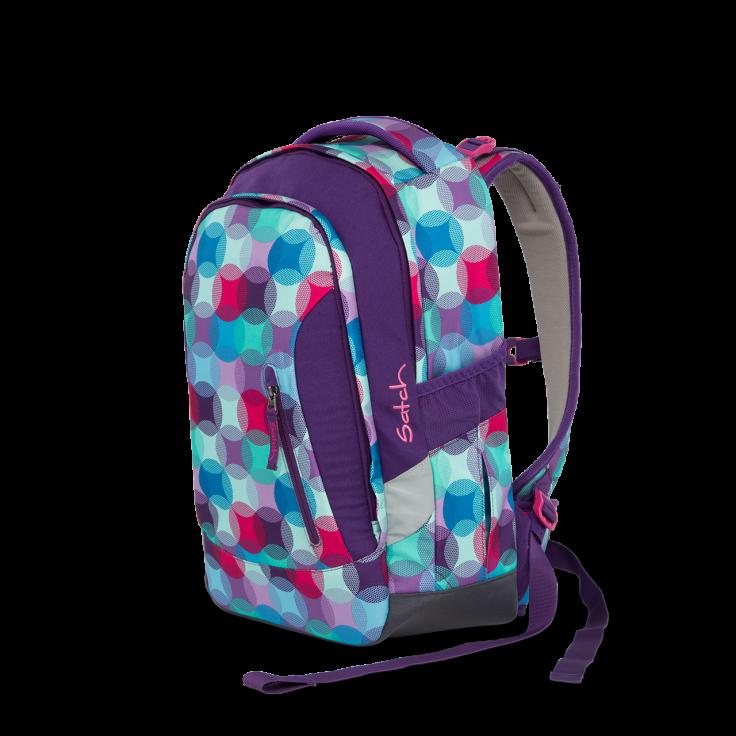 Skoletaske rygsæk - satch sleek - hurly pearly (24l) fra Satch fra babygear.dk