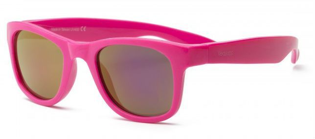 Real kids shades – Solbriller fra real shades - surf flex - neon pink på babygear.dk