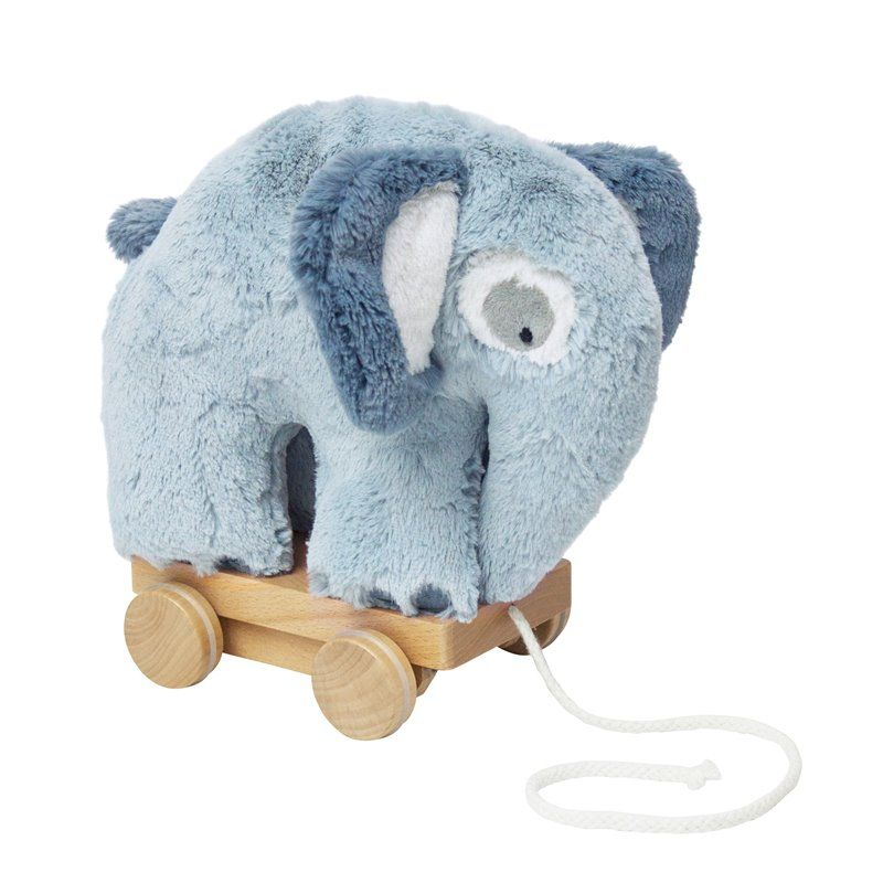 Image of trækdyr fra Sebra -Plys elefant cloud blue (3001111)