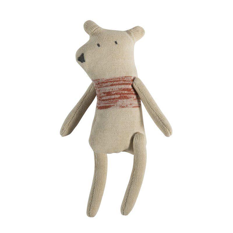 Image of Strikket bamse fra Sebra - Beary (3001305)