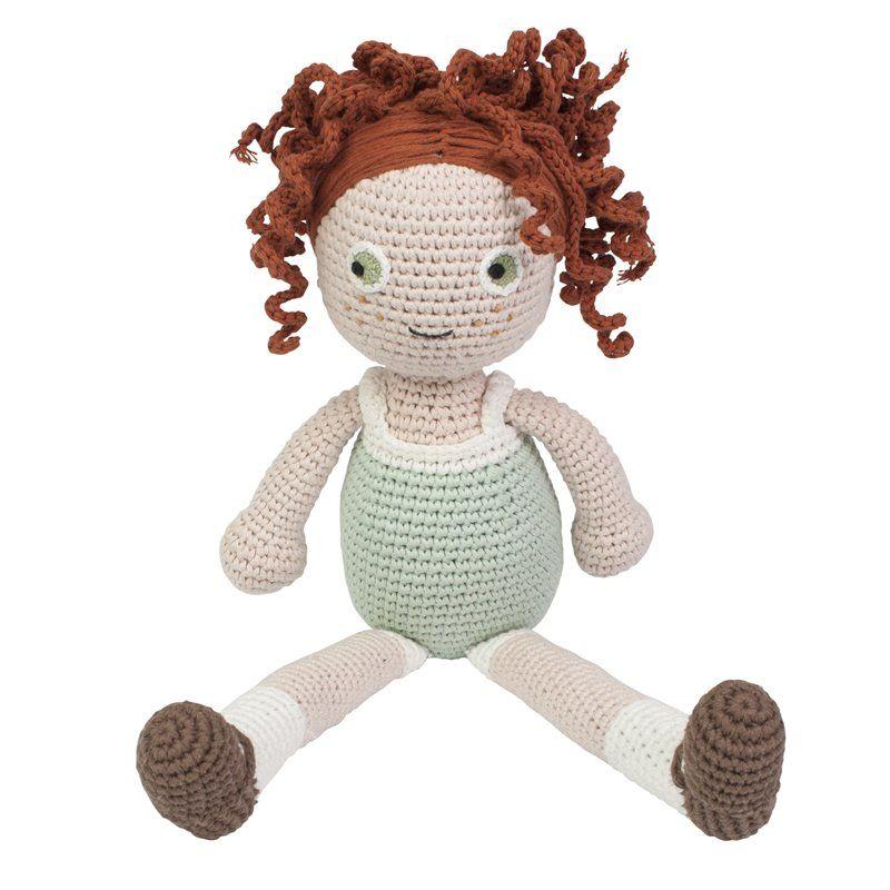 Hæklet dukke Fra Sebra -  Hanna