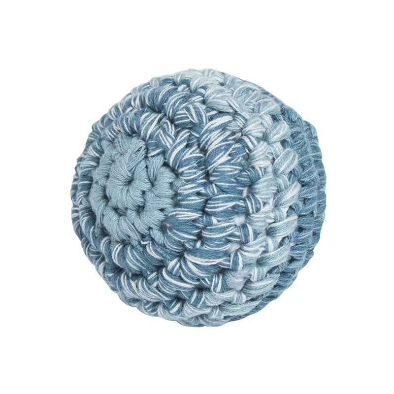 Bold fra Sebra -Hæklet royal blue (S)