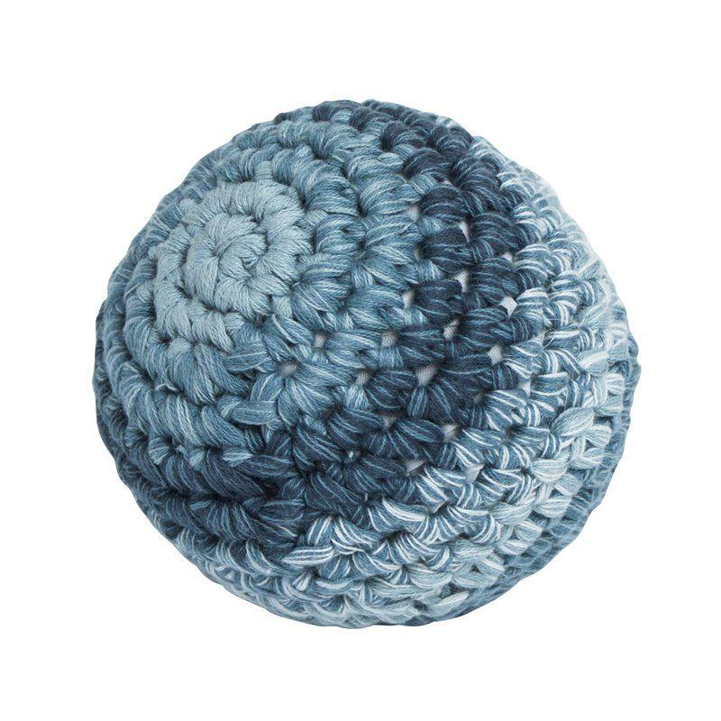 Bold fra Sebra -Hæklet royal blue (L)