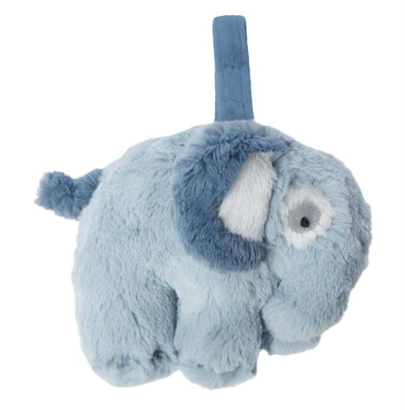 Spilledåse fra Sebra -Plys elefant cloud blue