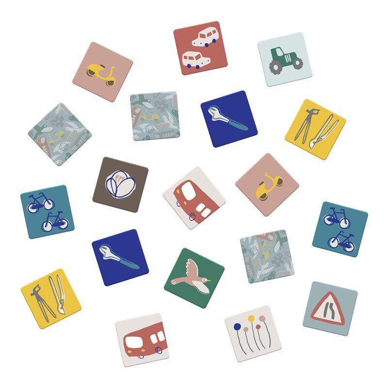 Image of Vendespil i boks Fra Sebra - Little Driver/Singing Birds (3015305)