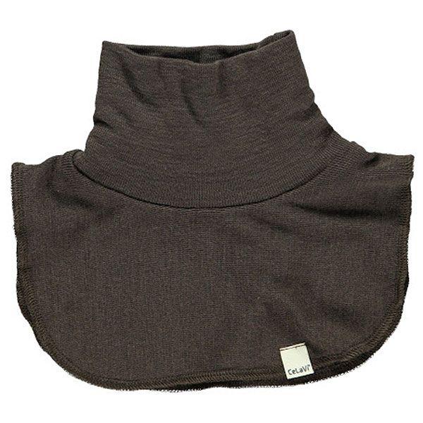 Halsedisse i uld fra CeLaVi - Choko brun