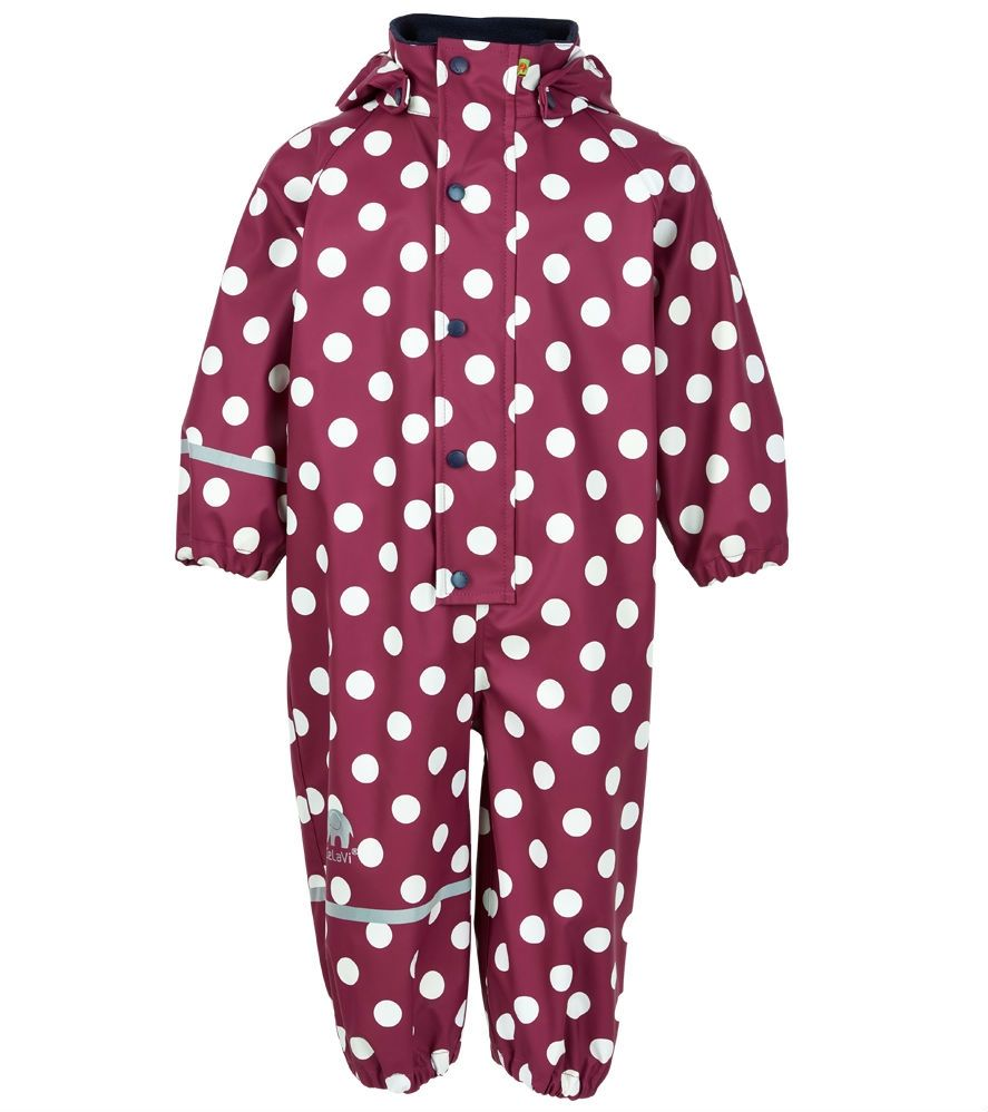 Image of Rainwear Suit fra CeLaVi - Dry Red Polka Dot (310103-4851)