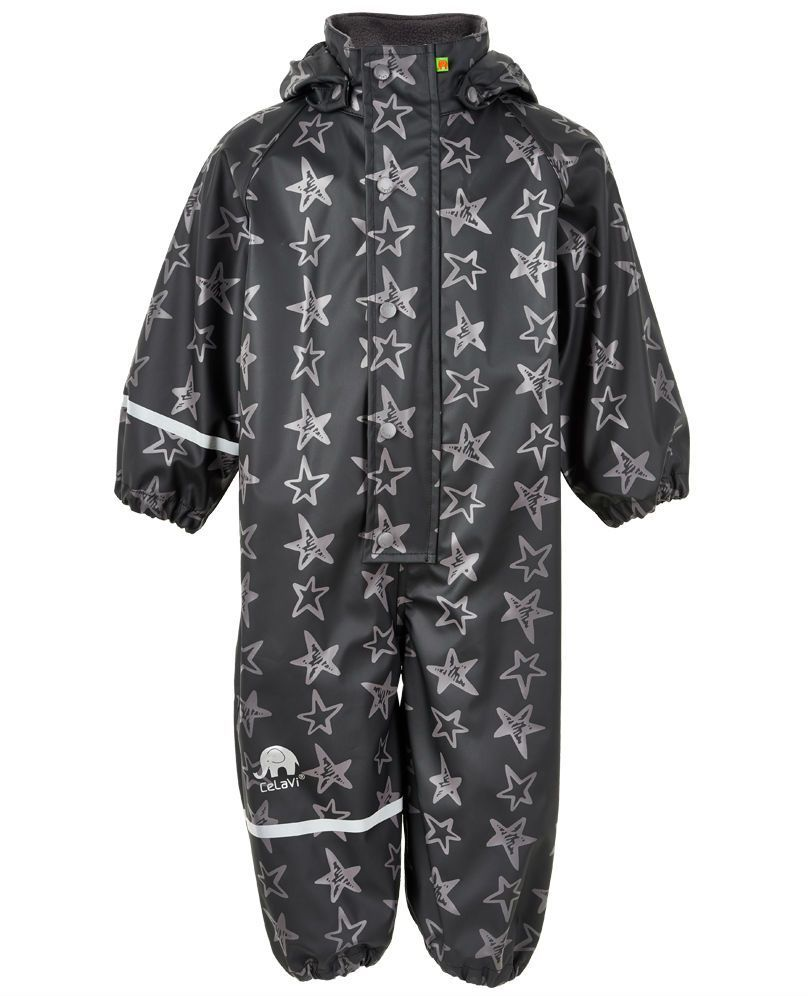 Image of Rainwear Suit fra CeLaVi - Stars Black (310105-1060)