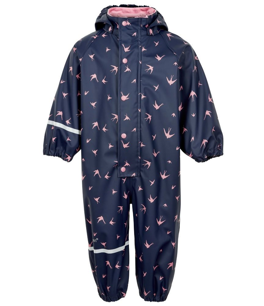 Image of Rainwear Suit fra CeLaVi - Sparrows - Navy/Rose (310150-5005)