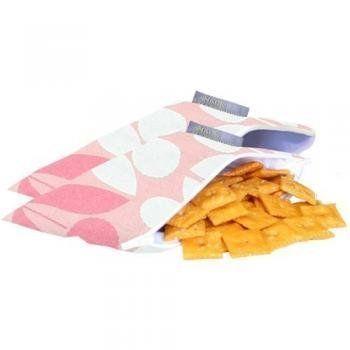 Mini snack bag fra Itzy Ritzy - Modern Floral (2 stk)