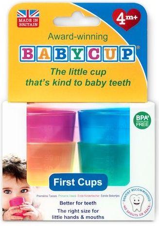 Image of   Baby drikkekop fra Babycup - Multi (4 x 50 ml)