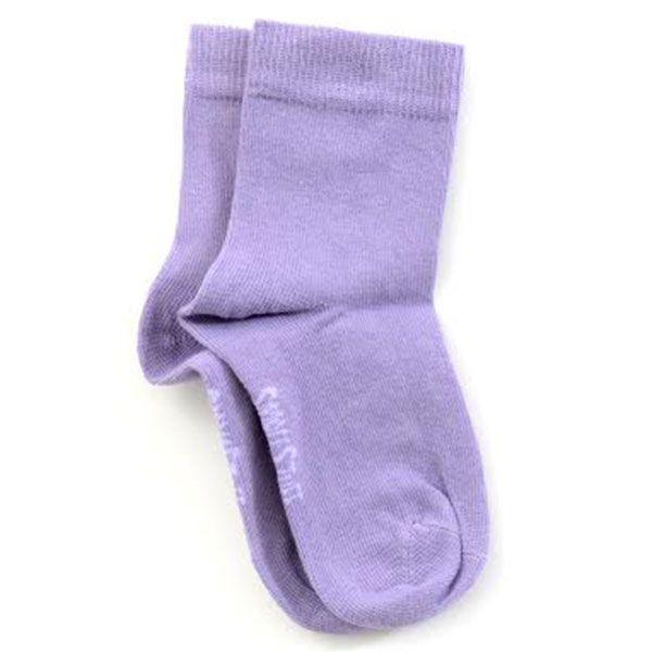 Image of   Smallstuff strømper - Ensfarvet - Lavendel