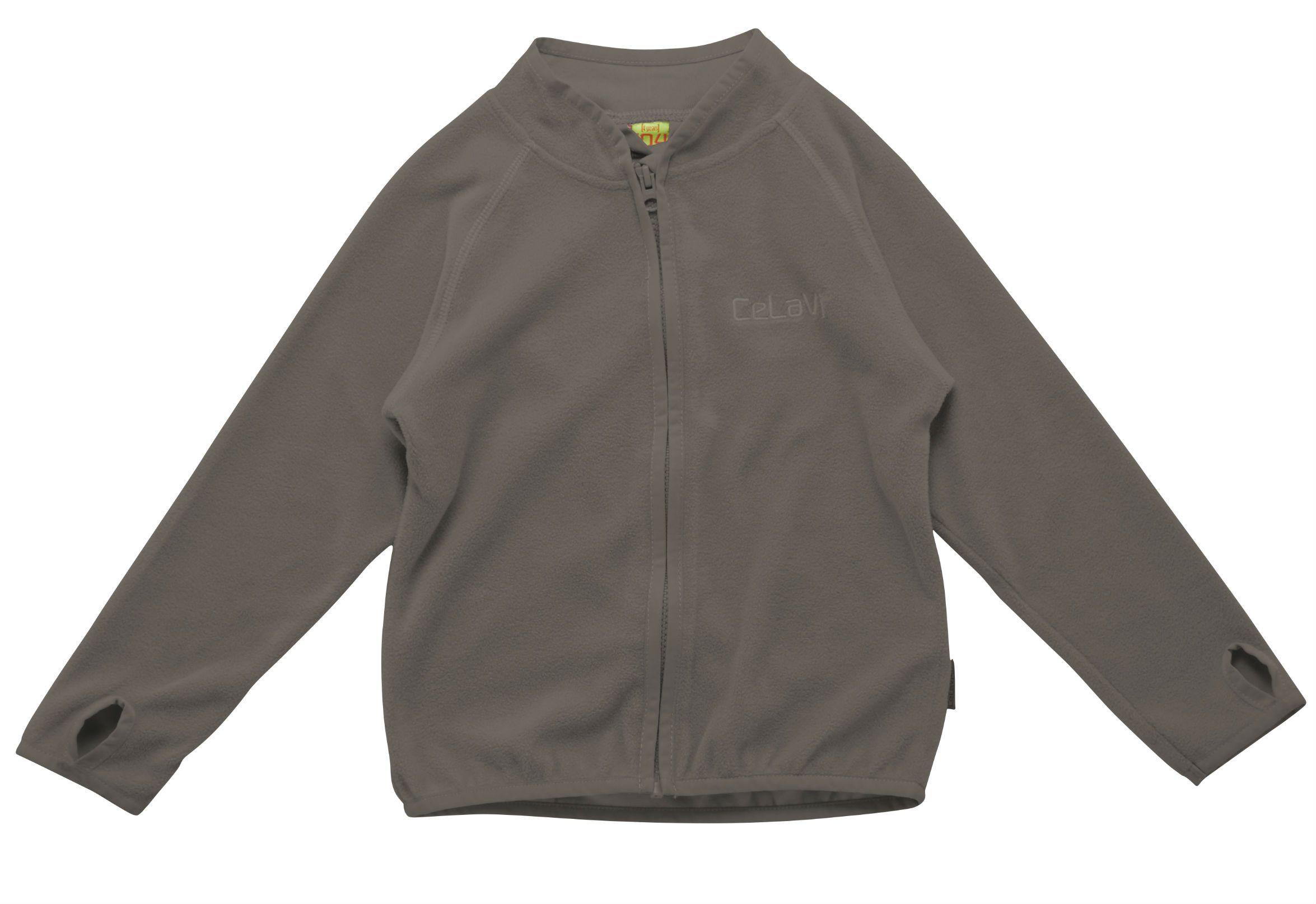 Image of   Fleece trøje fra CeLaVi - Grey
