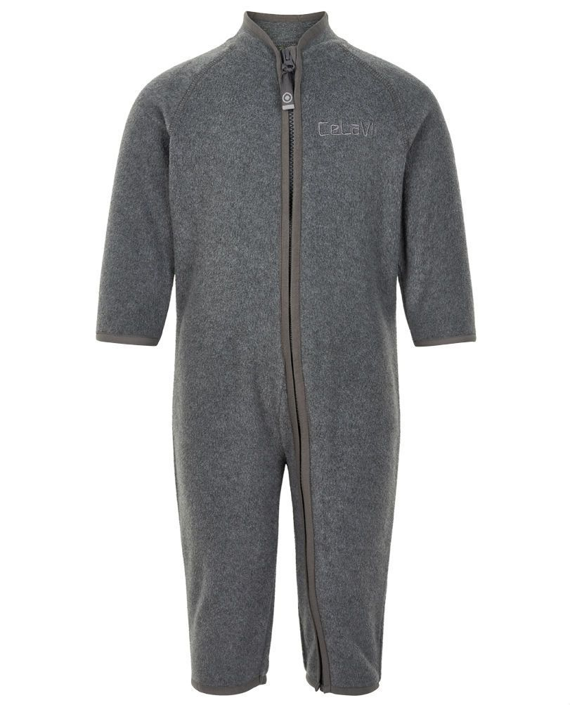 Image of   Fleece dragt fra CeLaVi - Grey